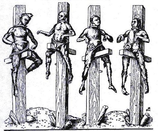 Pfählen Hinrichtung